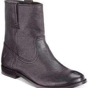 BNWOB FRYE Ann Short Black Boots Sz 7